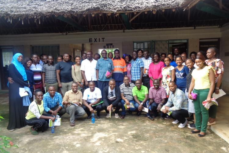 ICCA Postgraduate fieldwork Group at kwale county