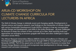 ARUA- CD Workshop for Lectures